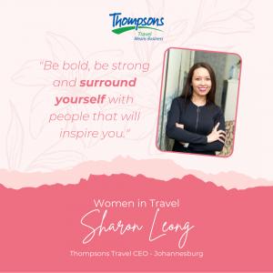 Sharon Leong - CEO Thompsons Travel